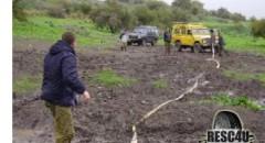 חילוץ בבוץ בגולן Resc4U
