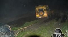חילוץ לילי גרירה בדרך לכביש Resc4U
