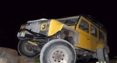 רכב חילוץ בלילה בערבה Resc4U