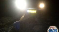 משיכת רכב מהבוץ באמצעות כננת Resc4U